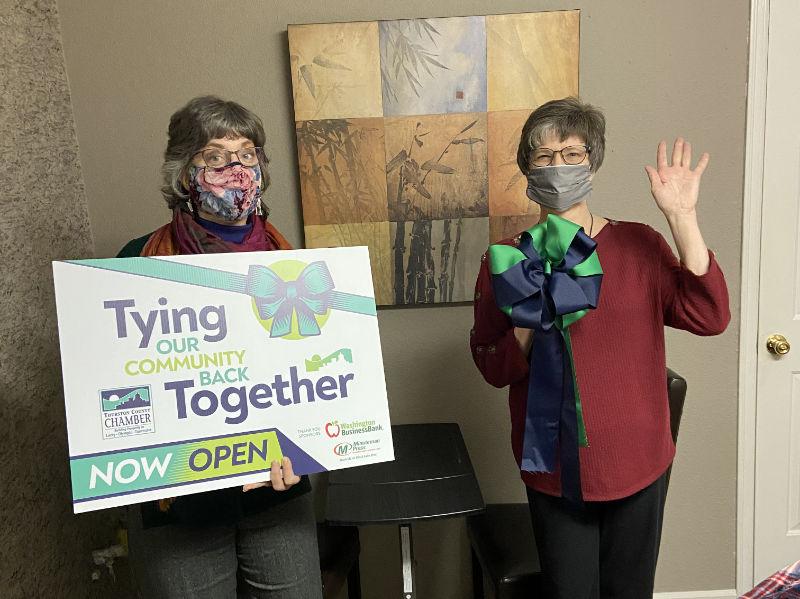 Thurston County Chamber Ribbon Cutting